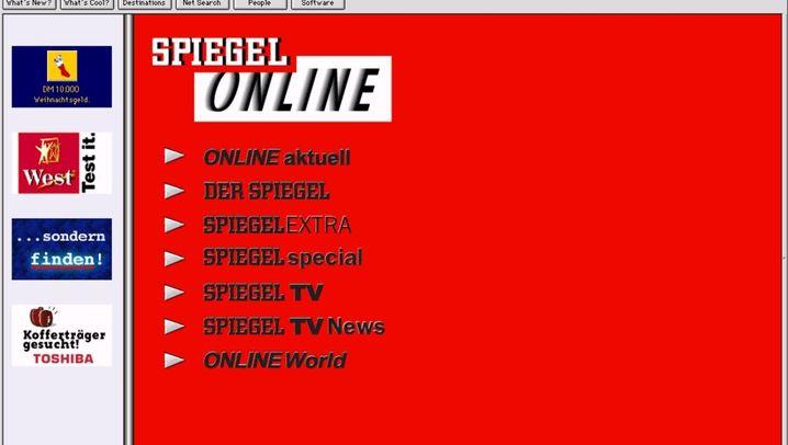 oldweb.today: Zeitreise in das Netz der Neunziger