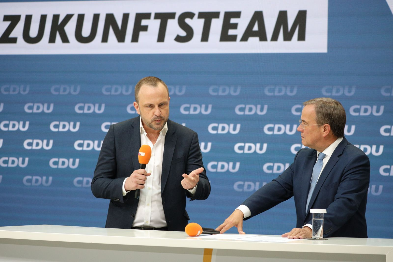 """CDU Presents """"Future Team"""" To Support Armin Laschet In Federal Elections"""