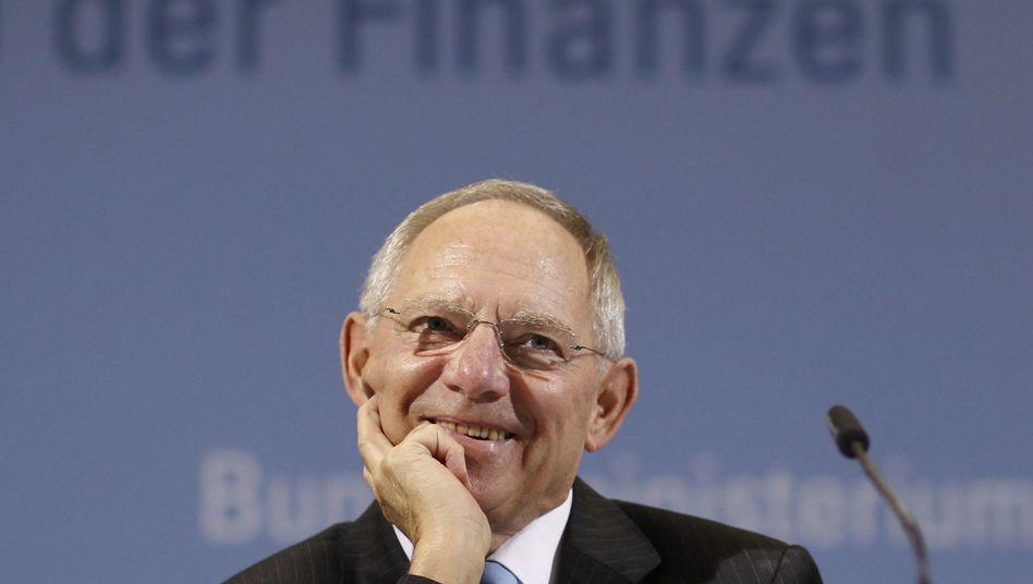 Finanzminister Schäuble: Unerwarteter Haushaltssegen