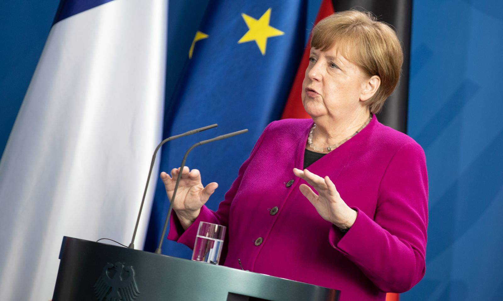 Germany, France propose 500 billion euro European stimulus package, Berlin - 18 May 2020