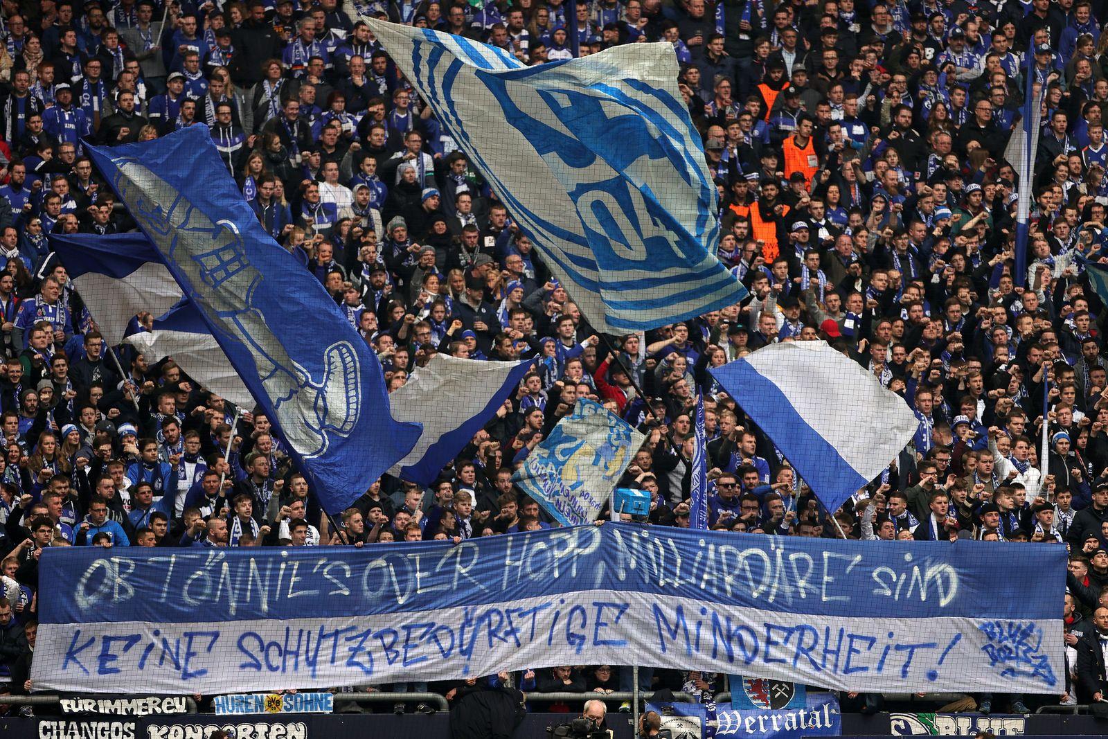 FC Schalke 04 vs TSG 1899 Hoffenheim, Gelsenkirchen, Germany - 07 Mar 2020