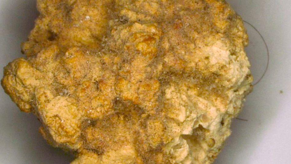 Bröckchen des 4000 Jahre alten Käses: Ähnlich wie Kefir