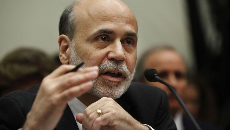 """US-Notenbankchef: Bernanke hält US-Wirtschaft für """"außergewöhnlich unsicher"""""""