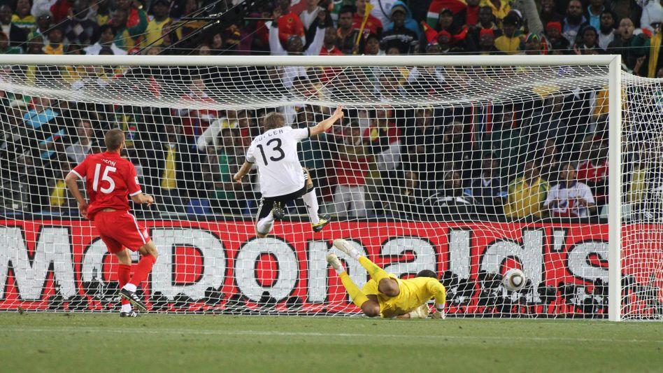 McDonald's sponsert ein Deutschlandspiel gegen England (Archivbild)