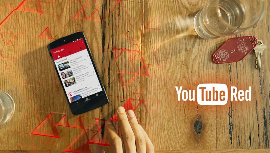 Werbeclip zu YouTube Red: Im Kern eine Premiumvariante des kostenlosen Dienstes