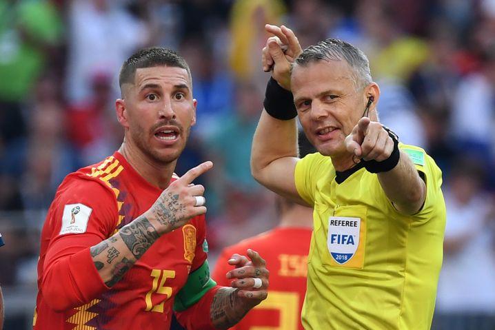 »Ein Fachmann, der immer gewinnen will«: Ramos gilt als Badboy des Fußballs, Kuipers hat mit ihm kein Problem