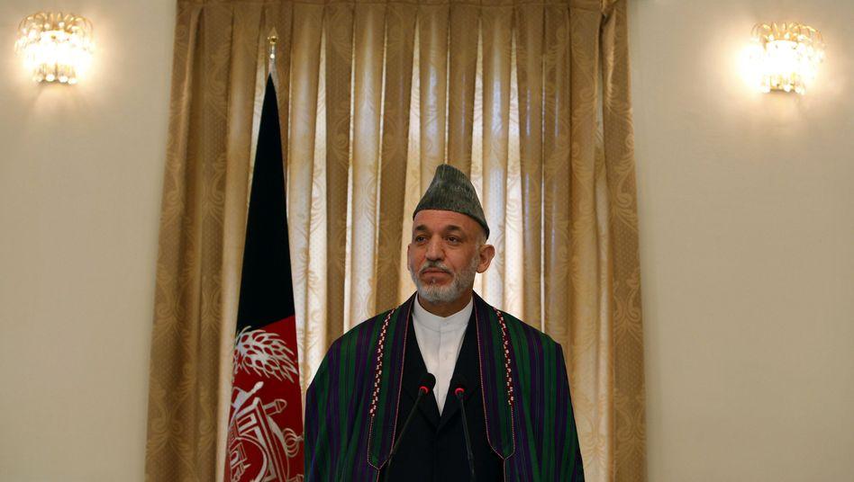 Präsident Karzai: Einsame Stichwahl abgesagt