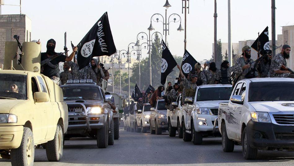 """IS-Dschihadisten im Nordirak: """"Kämpfen bis zum Ende"""""""