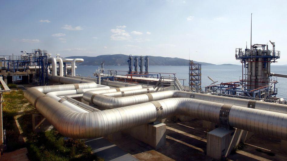 Desfa-Flüssiggasstation in Griechenland: Privatisierung vorläufig gescheitert