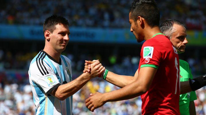 Argentiniens Sieg gegen Iran: Messi, der Retter