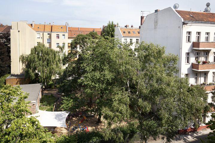 Stadtansicht: Blick aus der Wohnung der Pickhans