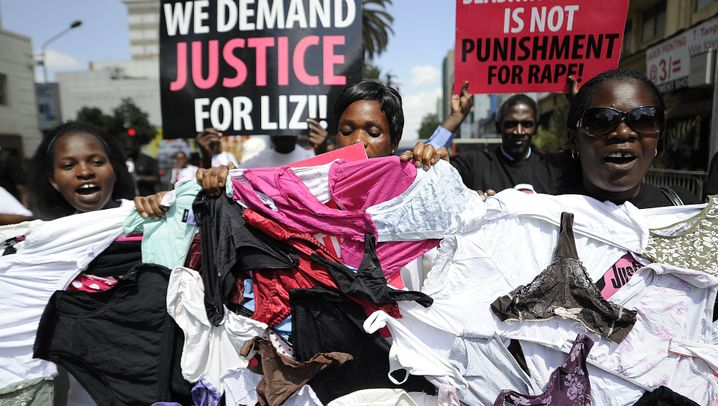 """Vergewaltigungsfall in Kenia: """"Gerechtigkeit für Liz"""""""