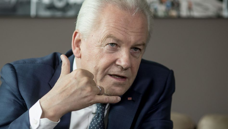 Ehemaliger Bahn-Chef Rüdiger Grube