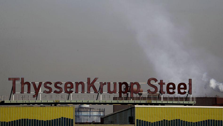 Thyssenkrupp in Duisburg