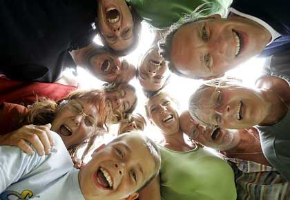 Jede Menge Heiterkeit: Lachen gilt als gesund