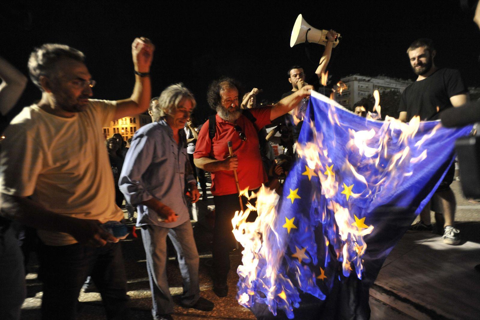 Griechenland/ Proteste