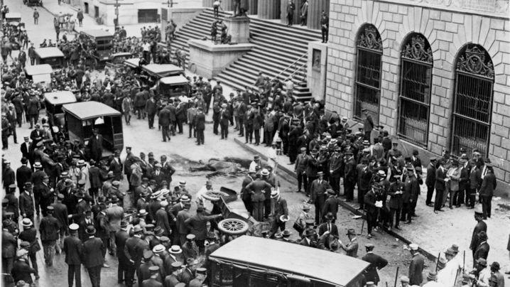New York City 1920: Explosion an der Wall Street