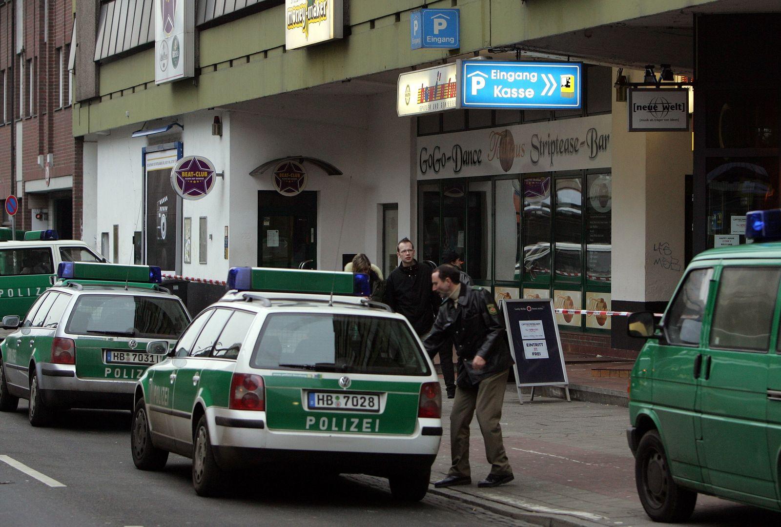 Schießerei / Bremen / Discothekenmeile