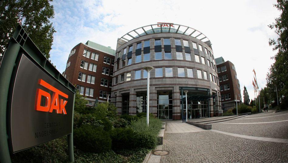 DAK-Zentrale in Hamburg: Die Kasse ist der drittgrößte Anbieter