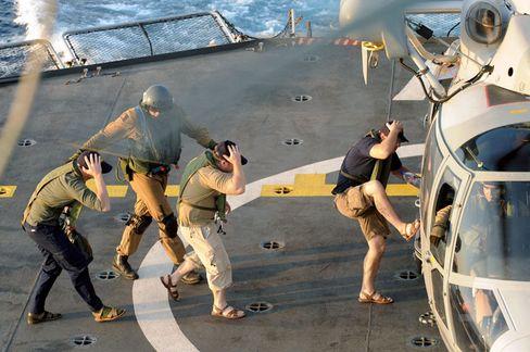 Rettung dreier Geiseln: Sicherheitsräume könnten der Crew Schutz bieten, bis rettende Marineschiffe kommen