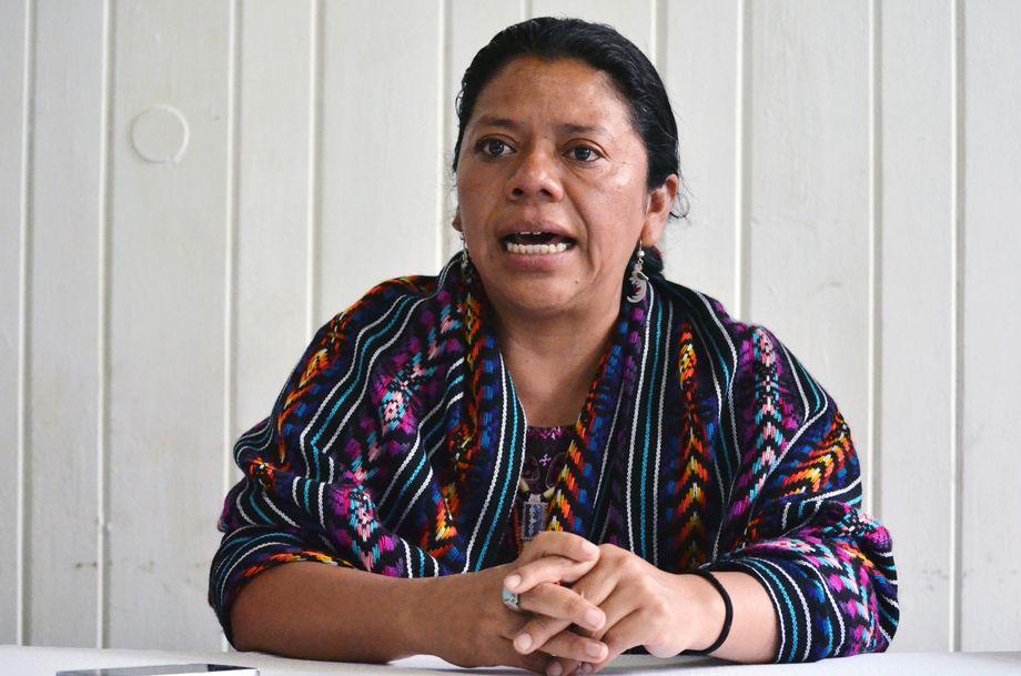 """Aktivistin Lolita Chavez: """"Wenn sie mich bedrohen, sagen sie, dass sie mich töten werden"""""""