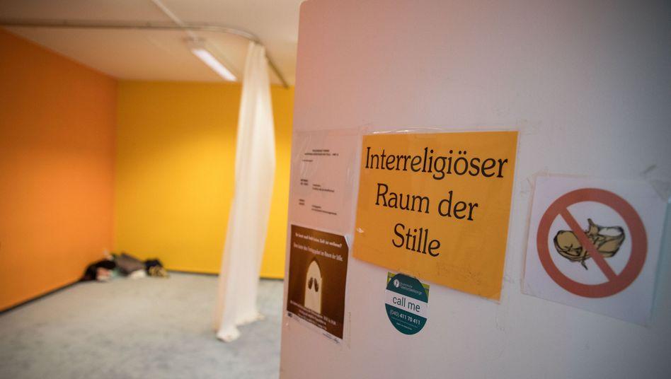 """""""Raum der Stille"""" an der Universität Hamburg"""