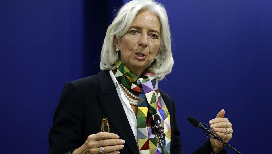 """IWF-Chefin Lagarde: """"Nachhaltiger Wachstumspfad"""""""