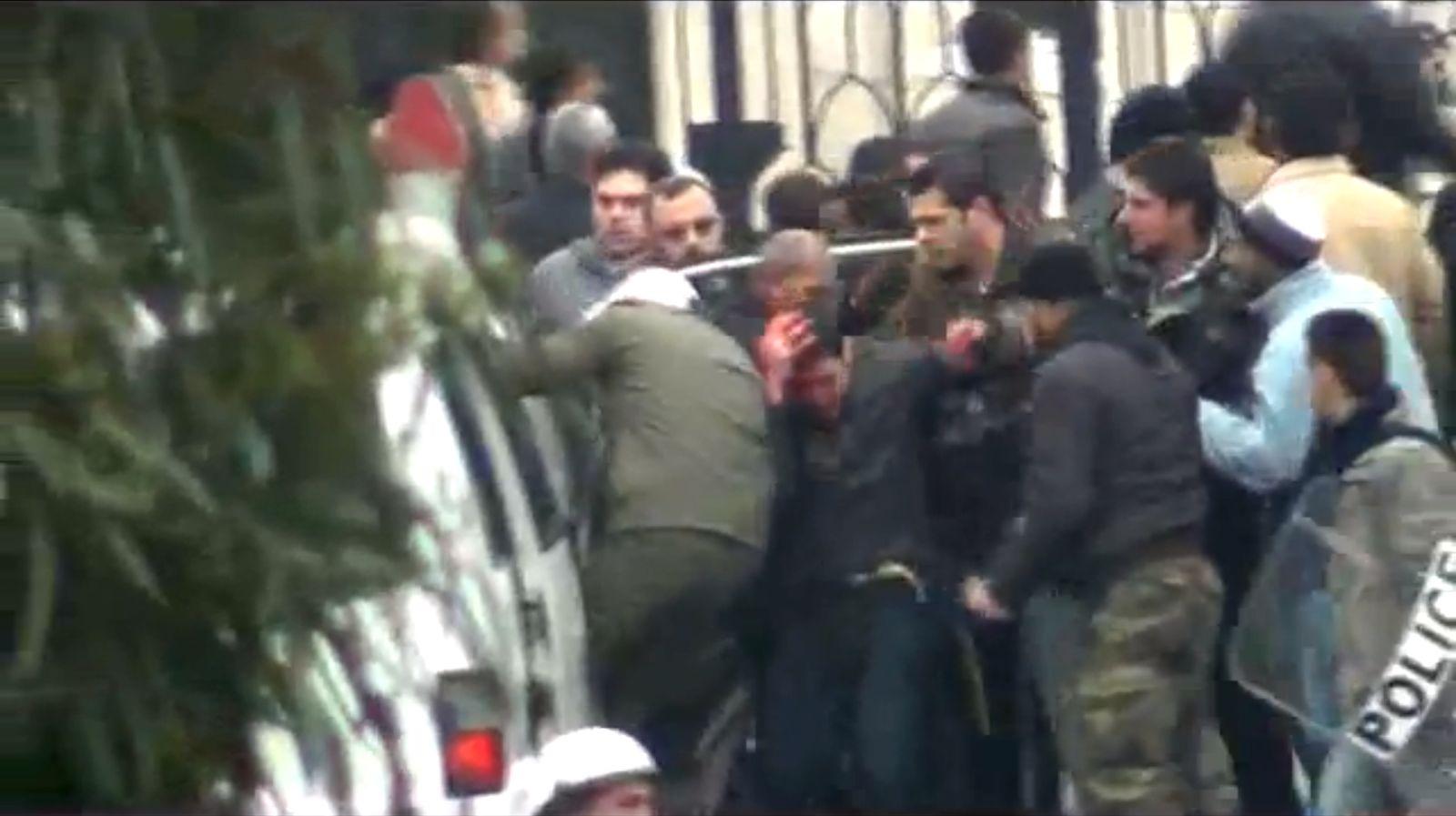 Unruhen Syrien/ Festnahme