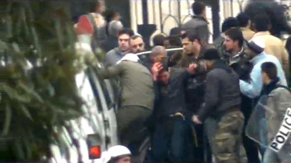 Einsatz der Schlägertrupps in Damaskus: Im Auftrag des Regimes