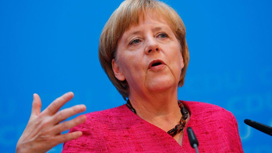 """Angela Merkel: """"Keinerlei Gegenstimme gehört"""""""