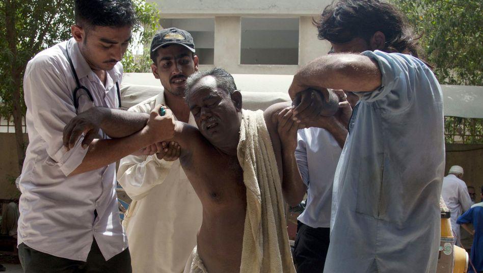 """Hitzeopfer in Pakistan: """"Es ist praktisch unmöglich, dass 2015 nicht das wärmste Jahr aller Zeiten wird"""""""