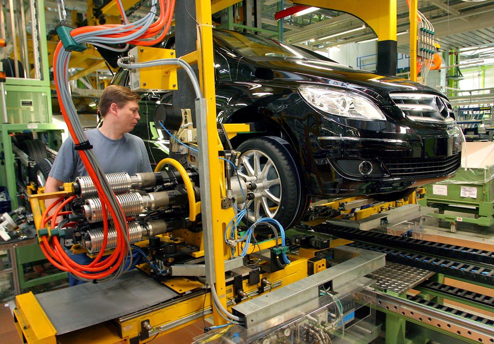 Mercedes Benz - Produktion B-Klasse