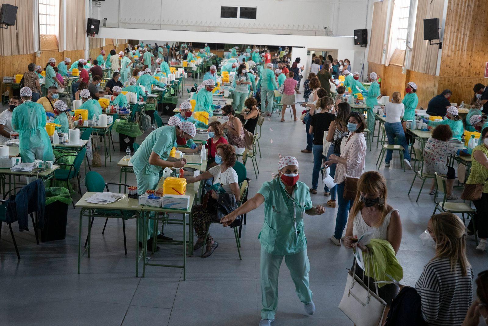 Vor Schulbeginn in Spanien