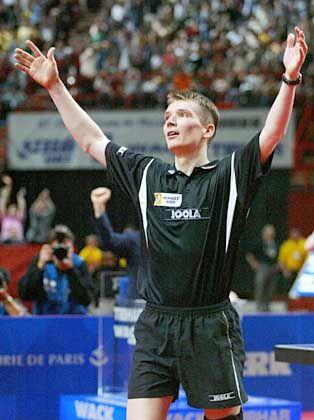 Der Hit in Paris: Werner Schlager ist neuer Tischtennis-Weltmeister