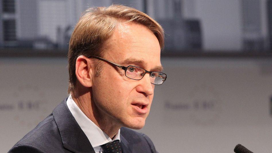 Bundesbank-Präsident Weidmann: Kein düsteres Bild zeichnen
