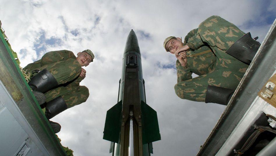 Russische Soldaten in Kaliningrad (2005): Grundstein eines neuen Sicherheitskonzepts