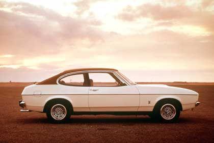 """Die noble Ausgabe des Familien-Sportwagens - der Capri II war auch in einer """"Ghia""""-Version erhältlich"""