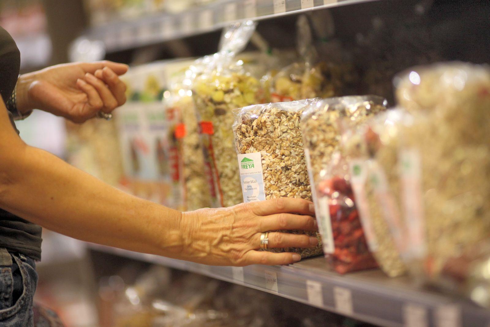 SYMBOLBILD Müsli / Ballaststoffe / Cerealien