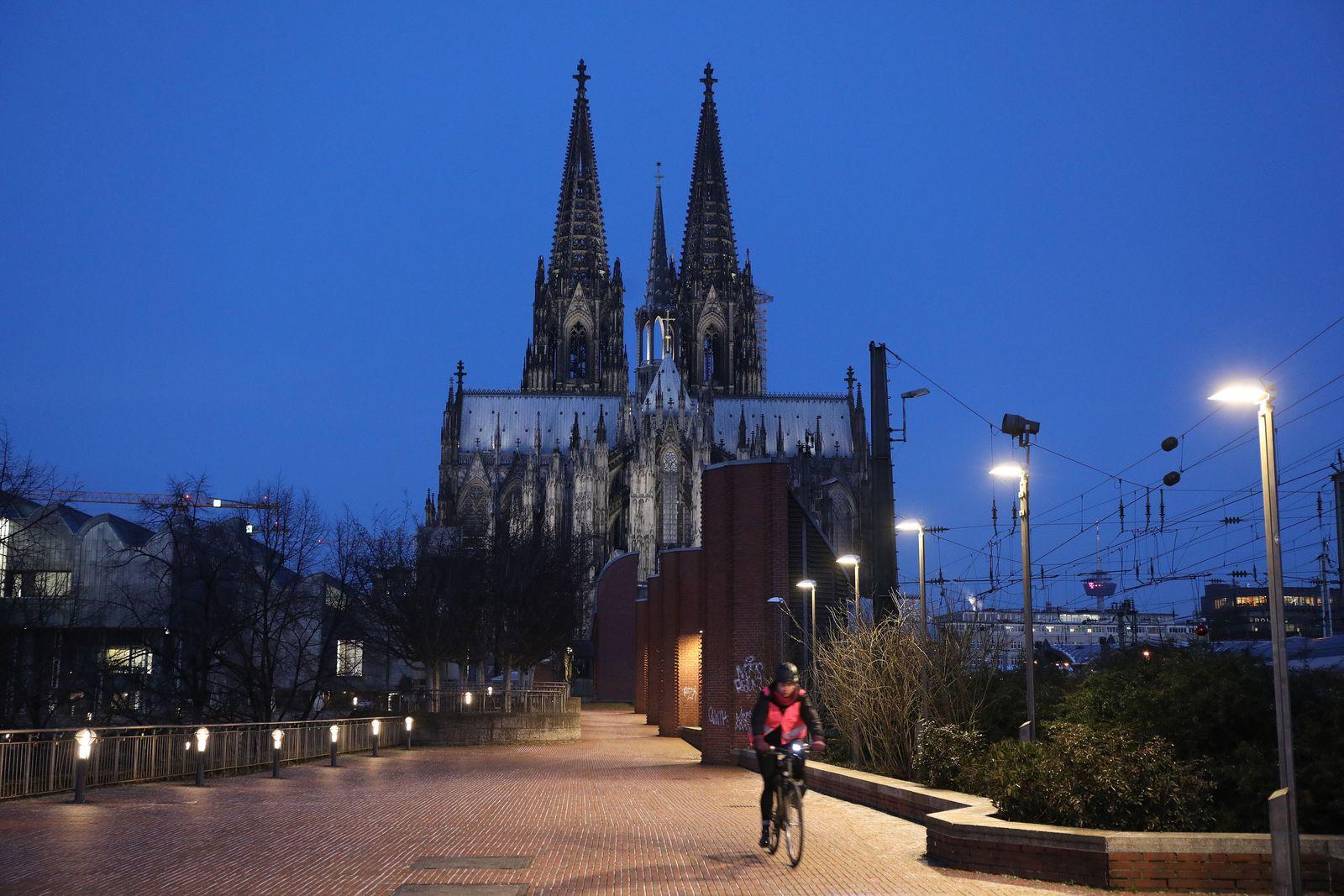 Winterwetter in Köln