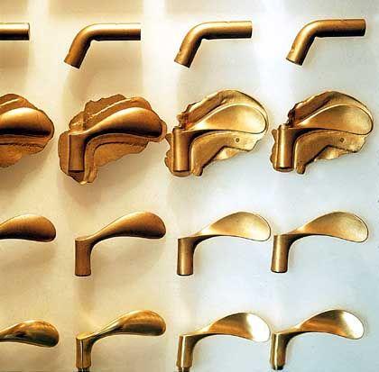 Durchdachte Gestaltung bis hin zum Türgriff - Klinkendesign von Arne Jacobsen