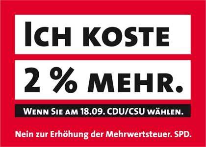 """SPD-Aufkleber: """"Das Leben ist komplizierter als ein Physiklabor"""""""