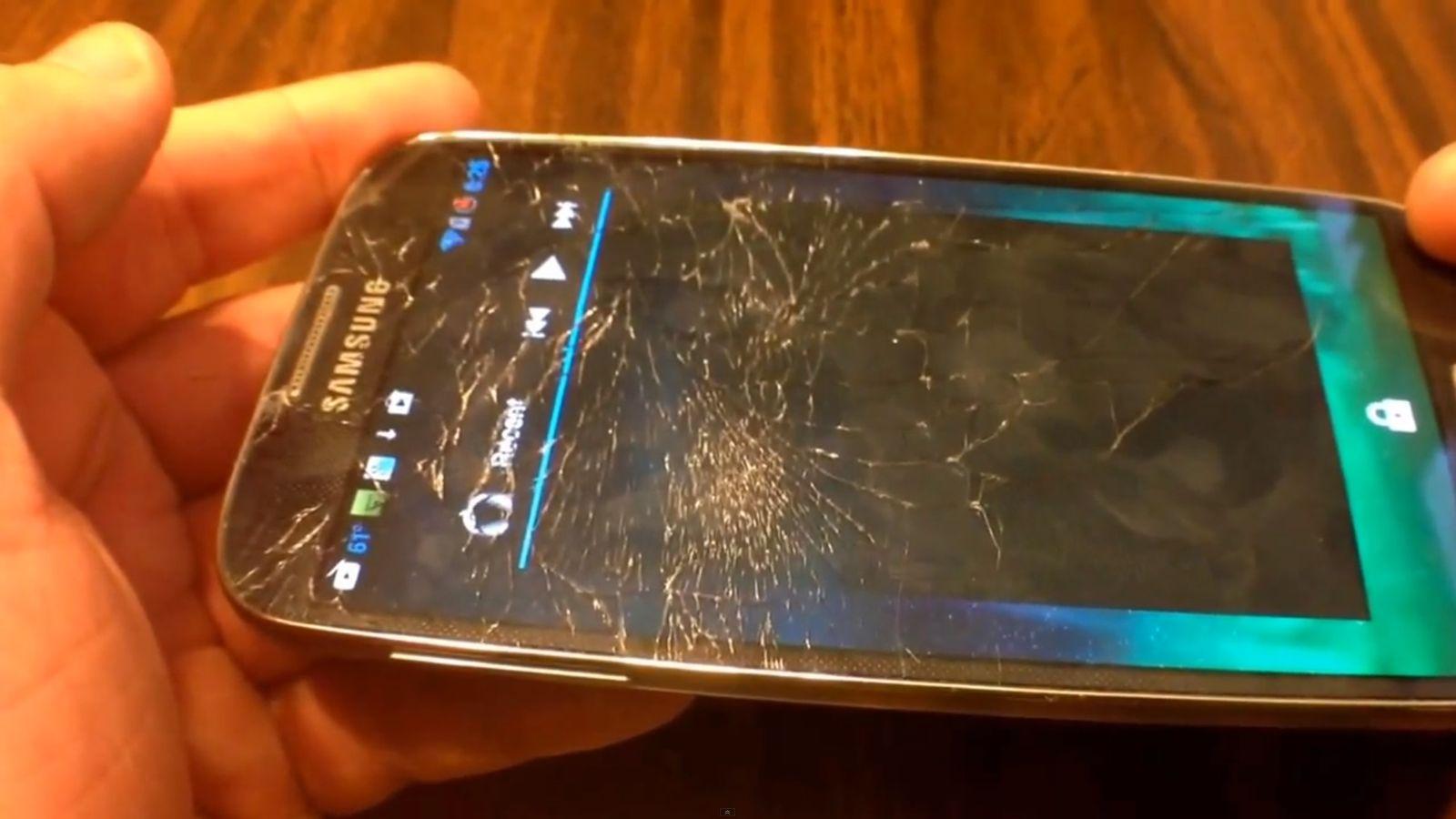 NUR ALS ZITAT Screenshot Samsung Galaxy verbogen