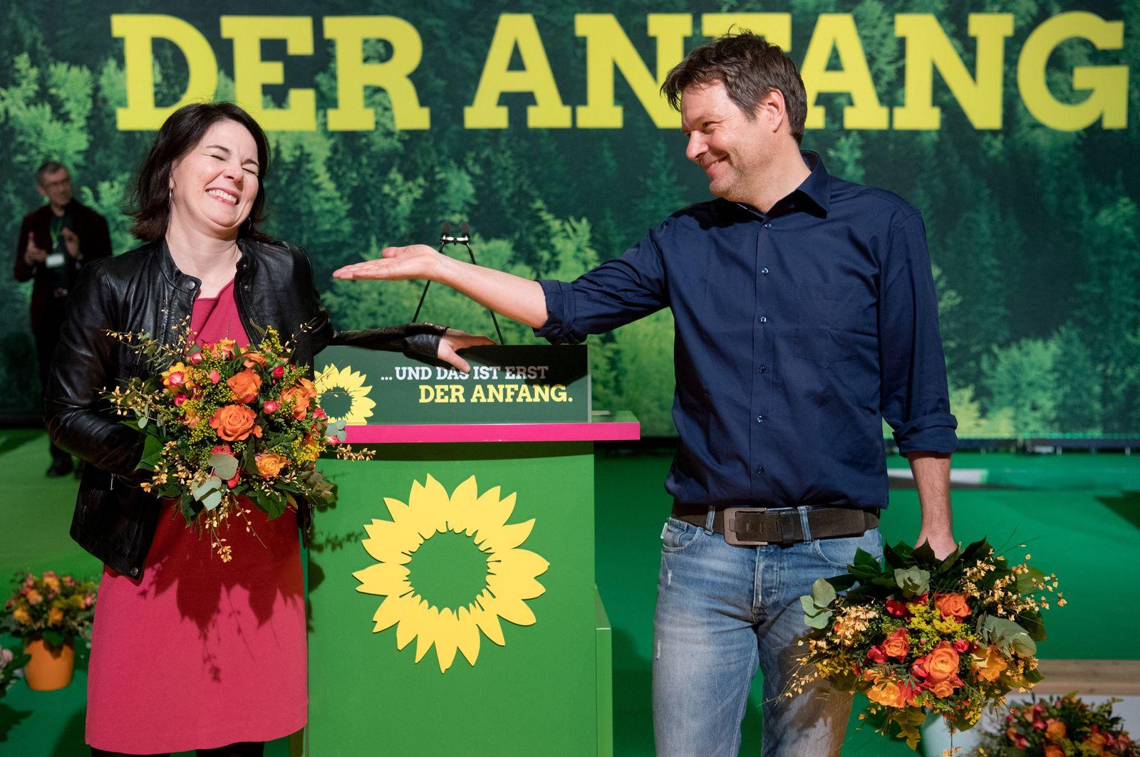 Bündnis 90/Die Grünen Habeck Baerbock