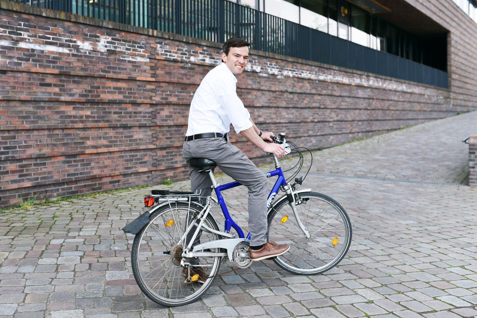 E-Bike Test/ Vanmoof/ Christoph