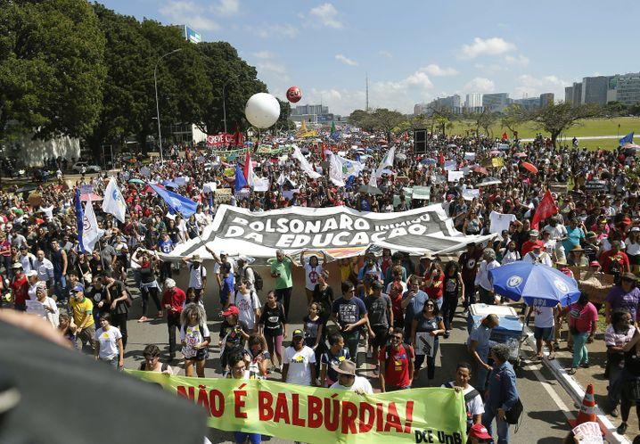 Bildungsstreik in Brasilien
