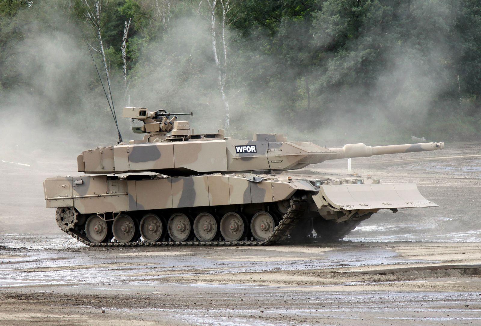 Rüstungsexporte - Kampfpanzer Leopard