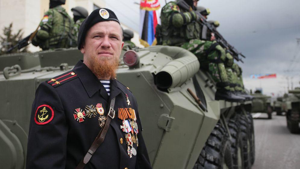 """Separatisten-Kommandeur """"Motorola"""": """"Wenn ich will, töte ich"""""""