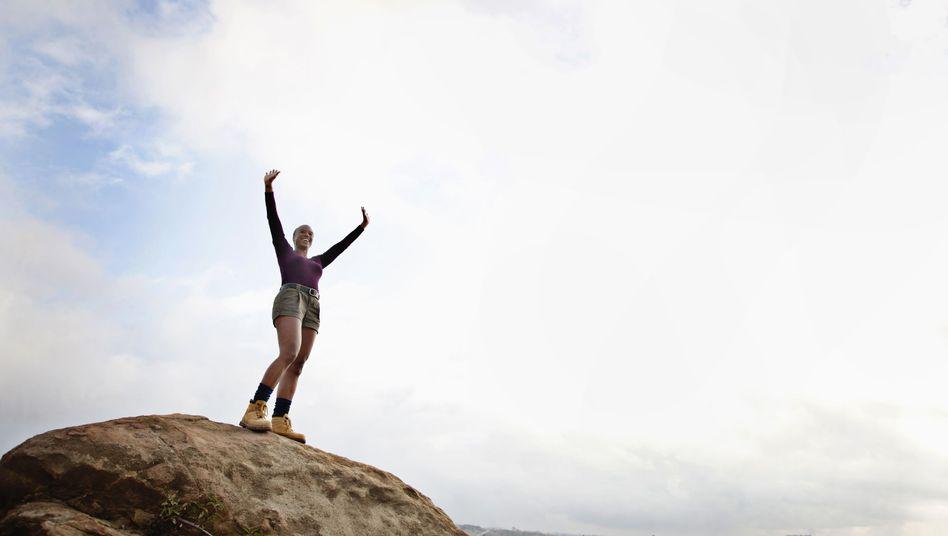 Erhebendes Gefühl: den Glauben ans Positive nie verlieren
