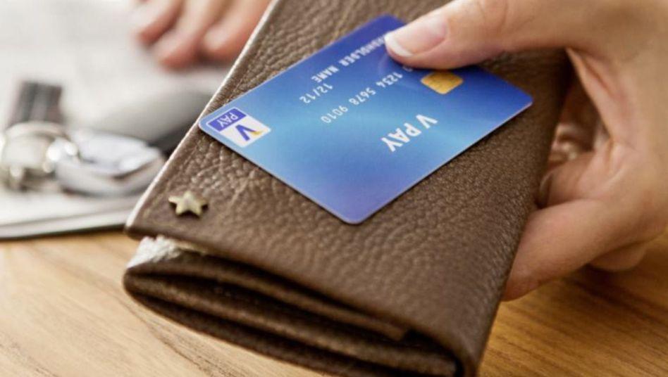 Karte mit V-Pay: Wie soll man das bloß als Fortschritt verkaufen?
