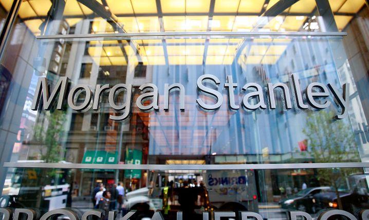Morgan-Stanley-Zentrale in New York City
